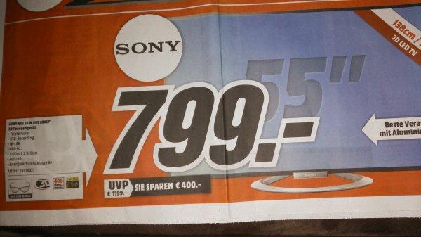 Sony KDL55 W805 - MM Ludwigshafen - 799€