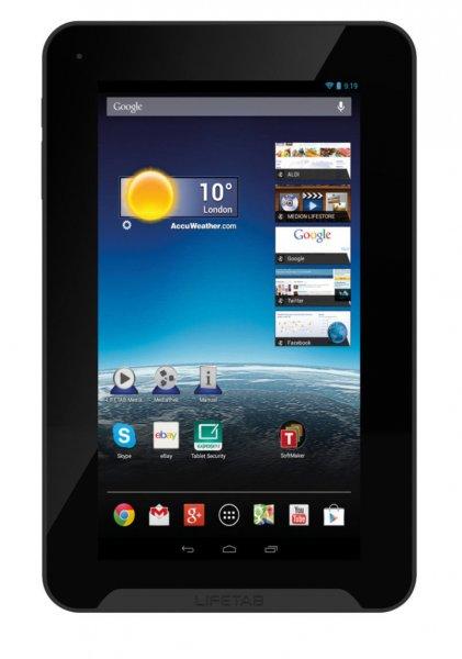 "[eBay] MEDION LIFETAB E7332 7"" Tablet - 16GB - 1,6 GHz Quadcore - Android 4.4.4 - Bluetooth - GPS - E-Kompass... 64,99 Euro!"