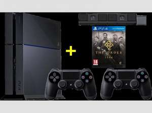 Sony PlayStation 4 500 GB + 2. Dual-Shock-Kontroller + Kamera + The Order @MediaMarkt.at