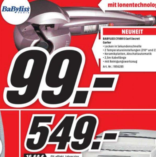 Babyliss Secret Curl C 1100 E Ionic (Media Markt Mühldorf)