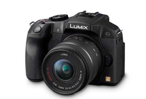 Panasonic Lumix DMC-G6KEG-K Systemkamera (16 Megapixel, 7,6 cm (3 Zoll) Touchscreen, WiFi, NFC) mit Objektiv Lumix G Vario F3,5-5,6/14-42 Asph./OIS schwarz inkl. Vsk für ~ 406 €  > [amazon.uk]