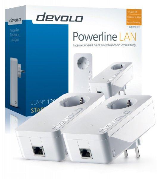 [Amazon] Devolo dLAN 1200+ Starter Kit für 113,50€