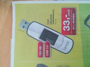 @ Staples bundesweit: Lexar USB Stick Jumpdrive S73 128GB