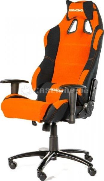Akraciing prime gaming chair orange/schwarz @Caseking