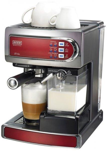 [Amazon] BEEM Germany i-Joy Café Ultimate, Espresso-Siebträgermaschine mit 20 bar mit integriertem Milchaufschäumer