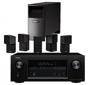 Denon AVR-X2100W 7.2 AV-Receiver 2x HDMI-Out, WLAN+BT & Bose Acoustimass 10 Lautsprecher für 1111,- Euro inkl. Versand!