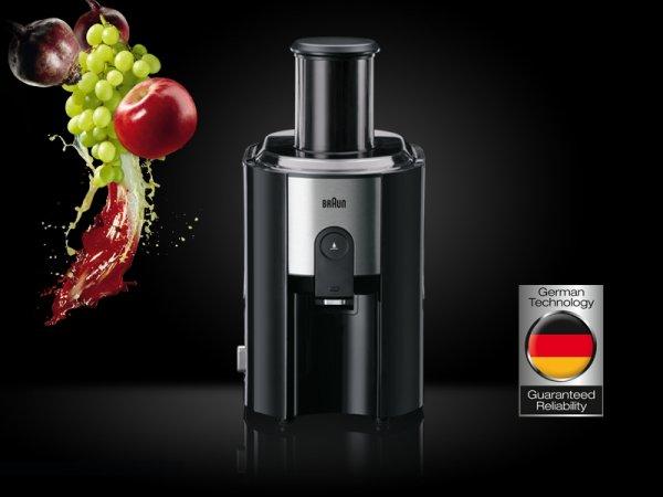 getgoods.de: Braun Multiquick 5 J500 Entsafter für 59,98€ statt 97,69€