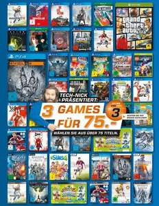 [Saturn] [Lokal?] 3 Spiele für 75 € - z.B. Evolve, RE Revelations 2 & DMC Definitive Edition PS4 für je 25 €