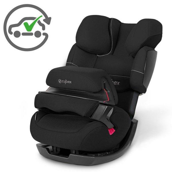 [baby-markt] CYBEX SILVER Kinderautositz Pallas Pure Black-Black