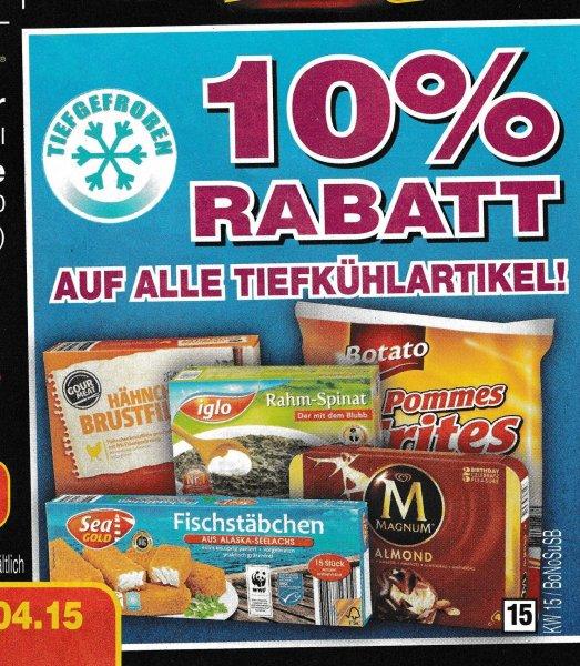 Netto Marken Discount (ohne Hund) 10 % Rabatt auf alle Tiefkühlartikel! nur Lokal ?