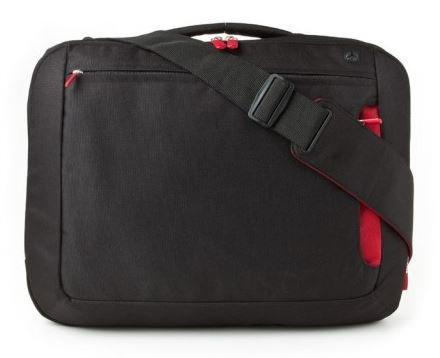 Belkin Kuriertasche fuer Notebooks bis zu 43,2 cm (17 Zoll) schwarz/rot (F8N051EABR)
