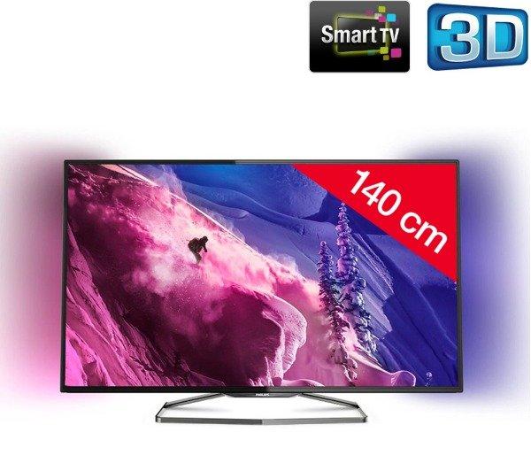 Philips 55PFS6909 55 Zoll Ambilight 3D Fernseher für 723,99€