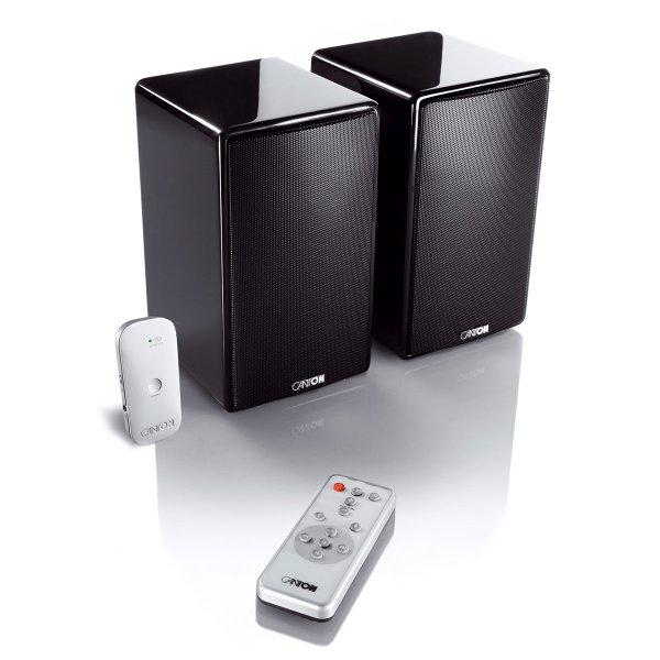 Canton Starter Pack Stick Duo Wireless Aktiv-Lautsprecher schwarz für 269€x09@ Hifi Fabrik