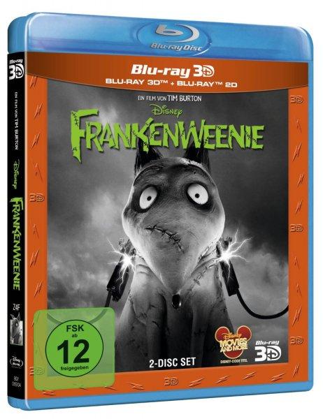[3D Blu-Ray & 2D Blu Ray] Frankenweenie - für 10,99€ (gratis Versand) @ CeDe.de