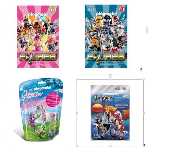Real: Playmobil Figures 5596 bzw. 5597 für 1€, Set 5440 Futter-Fee mit Einhorn sowie Dragon & Kämpfer-Sets (5462, 5463, 5464, 5465) für 5€
