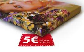 Meinfoto 120x80 Leinwand 20 Euro