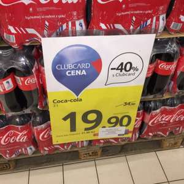 2L Cola für 72,5 Cent
