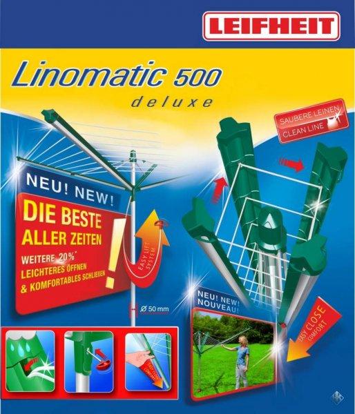 [Lokal Globus/Bauhaus Leipzig Seehausen] Wäscheschirm Linomatic 500 deluxe