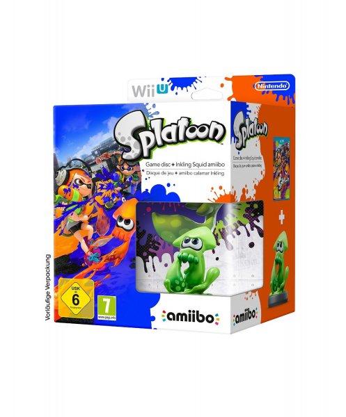 Splatoon + Amiibo Limited Edition (Wii U) für 53,63€ @amazon.fr, Bestpreis, Vorbestellung für 29. Mai; Yoshi's Woolly World + Amiibo Limited Edition (Wii U) für zusätzlich 59,99€