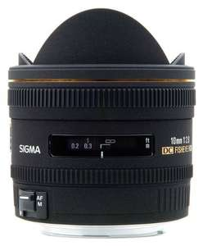 Sigma 10mm f2.8 EX DC HSM Fisheye Canon für 523,66 € @Amazon.it