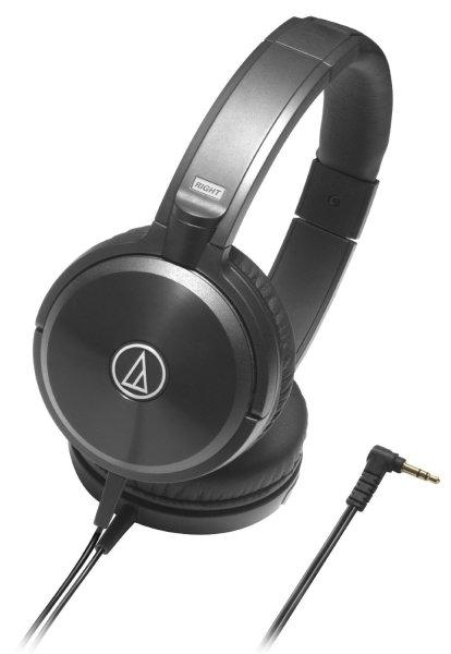 Audio Technica ATH-WS77 Solid Bass On-Ear-Kopfhörer schwarz für 110,19  € @Amazon.fr