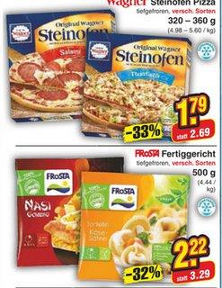 [Netto-Markendiscount]Frosta verschiedene Sorten für 2€ und Wagner Pizza 1,69€
