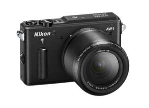 "Nikon 1 AW1 Systemkamera (14,2 Megapixel, 3"" TFT-Display, Full HD, HDMI, wasserdicht) Kit inkl. 11-27,5mm Objektiv schwarz für 501,18 € @Amazon.it"