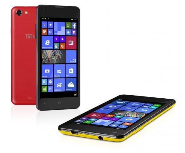 [NBB] Trekstor Winphone 4.7 Dual-SIM Windows Phone (4,7'' HD IPS, 1GB RAM, 1,2 GHz Quadcore) + 32GB microSD-Card + 2 Wechselcover für 125€