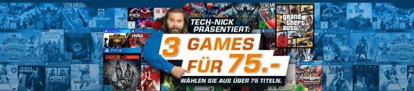 [Systemfehler] [Saturn 3für75] 3* Rayman Legends Xbox One für 14,97 € oder 3* Xbox One Spiele für 35€  oder 3* Ps4 Spiele für 45€ + 1,99versand
