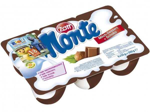 Zott Monte 6er Pack @Lidl