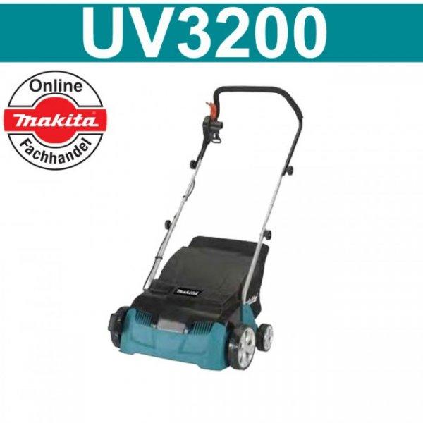 Makita Vertikutierer UV3200 lieferbar + Füllartikel für 100,31€
