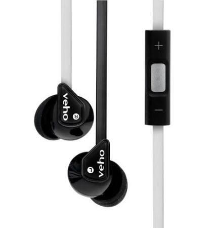 Veho 360° Z-2-Kopfhörer in Schwarz ab 9,95 € + 1,99 Versand(bis zu 85% sparen, gegenüber Preis auf Veho.de)