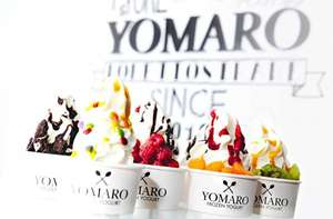 [Ratingen] Gratis Frozen Yogurt mit Saucen & Toppings am 10.4.2015 bei Yomaro!