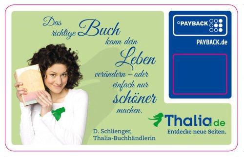 [Thalia & Payback] 100 Punkte für das Hinterlegen der Payback-Nummer im Kundenkonto