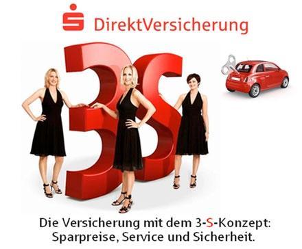5€ für 60€ Gutschrift auf die PKW-Versicherung bei der Sparkassen DirektVersicherung