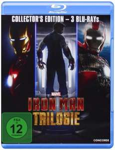 (Saturn.de) (BluRay) Iron Man Trilogie - Steelbook Collectors Edition