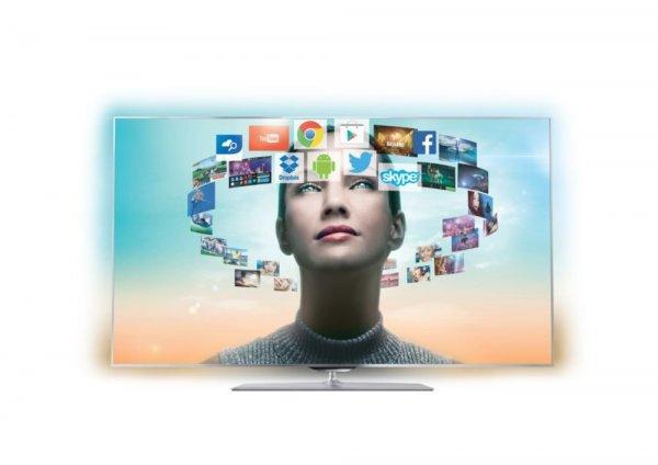 """WIEDER DA: Philips 55PFS8159 für 1049€ - 55"""" 3D LED TV mit 4 Seiten Ambilight"""