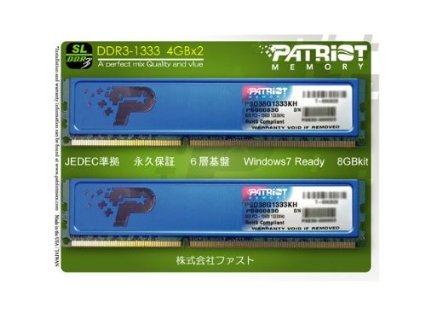 Patriot Signature Line Arbeitspeicher 8GB DDR3-1333
