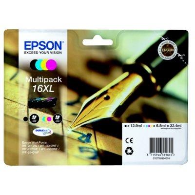 Epson Tintenpatrone 16XL Multipack C13T16364010 für 43,79 €