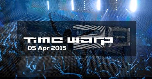 Livesets der Timewarp 2015