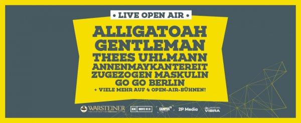 [Lokal] CAMPUS FESTIVAL in Bielefeld am 25.06. ab 16 Euro