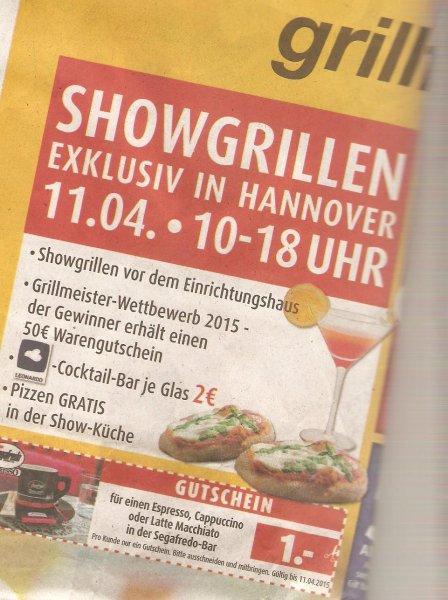 [Lokal Hannover] Gratis Pizza bei Möbel Porta! Großes Grillfest!