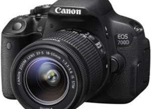 Canon EOS 700D Kit EF-S 18-55mm IS STM 1:3.5-5.6 + Eye-Fi Mobi SDHC 8GB @ computeruniverse