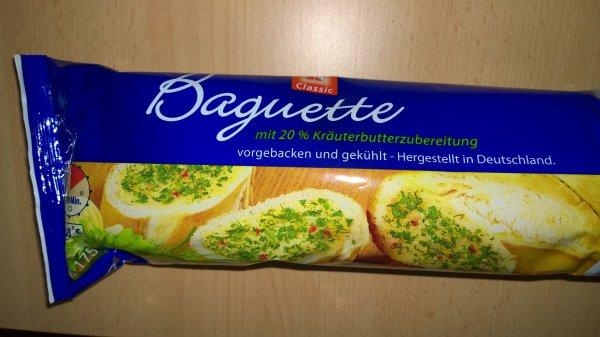 Kaufland Berlin Gropius Passagen Kräuter/Knoblauch Baguette