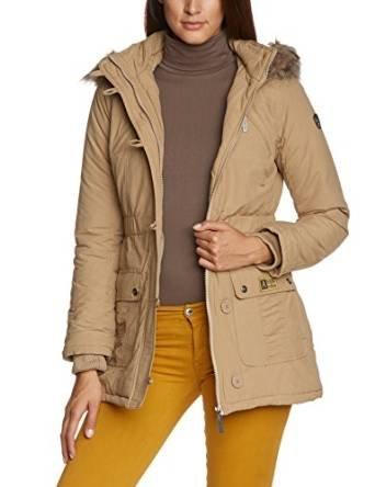 [Amazon Prime] Madonna Damen Jacke beige in Gr. M für 13,09€