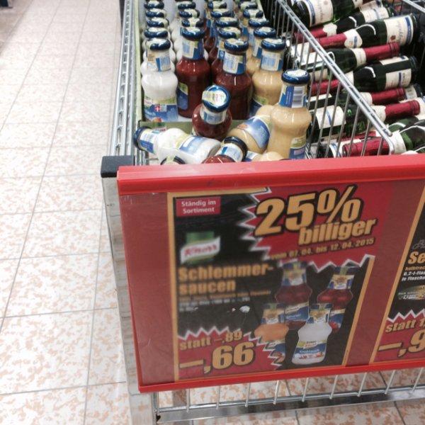Knorr Grill Sauce für 0,66€, die Grillsaison geht los