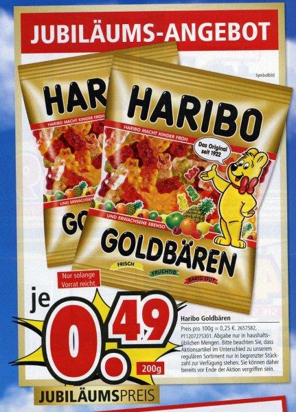 [Lokal evtl. bundesweit - Segmüller Weiterstadt] Haribo Goldbären Euro 0,49 / 200 g-Tüte