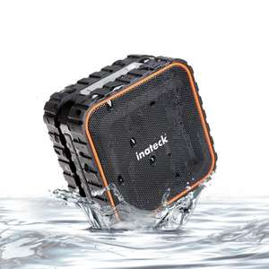@Amazon: Inateck aufladbarer Tragbarer Bluetooth 3.0 Lautsprecher Wireless Speaker gesteigertem Tiefbass | 3W| IPX5 Wasserdicht Standard