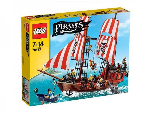 Lego Pirates 70413 Großes Piratenschiff, bei SpieleMax.de, 70,17€