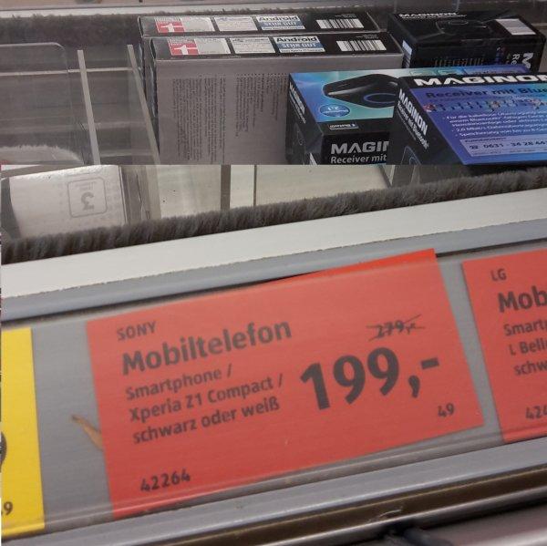 [Lokal Aldi-Süd, Frankfurt a.M. Heddernheim] Sony Xperia Z1 Compact